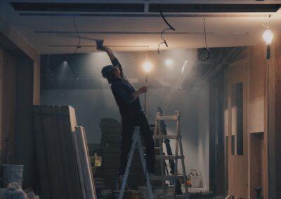 大手家具センターN様 LED照明工事